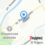 Борейспорт на карте Санкт-Петербурга