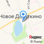 Девяткино на карте Санкт-Петербурга