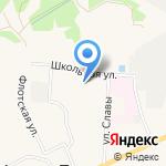 Охта-Сервис на карте Санкт-Петербурга