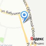 Городской диабетологический центр №4 на карте Санкт-Петербурга