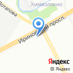 №1163 на карте Санкт-Петербурга