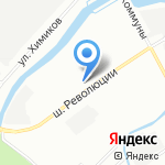 Государственное бюджетное учреждение здравоохранения Ленинградской области на карте Санкт-Петербурга