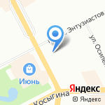 Сады Эдема на карте Санкт-Петербурга