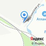 Нова на карте Санкт-Петербурга
