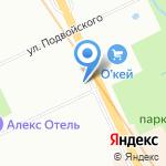 Аргентум на карте Санкт-Петербурга