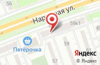 Схема проезда до компании Никпром в Санкт-Петербурге