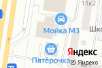 Схема проезда до компании Магазин фруктов и овощей в Санкт-Петербурге