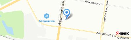 Ириш-тур на карте Санкт-Петербурга