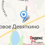 Магазин хозтоваров и сувениров на карте Санкт-Петербурга