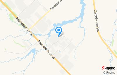 Местоположение на карте пункта техосмотра по адресу г Санкт-Петербург, п Шушары, ш Московское, д 231 литер ш