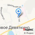 Загородный на карте Санкт-Петербурга