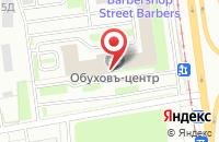Схема проезда до компании Инспецтехника в Санкт-Петербурге