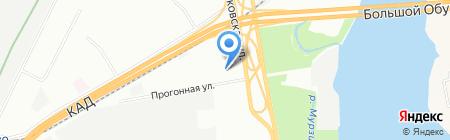 Алкон на карте Санкт-Петербурга