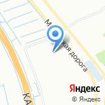 Цветной город на карте Санкт-Петербурга
