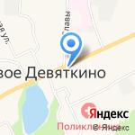 От души на карте Санкт-Петербурга