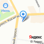 Gatto на карте Санкт-Петербурга