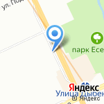 Магазин овощей и фруктов на карте Санкт-Петербурга