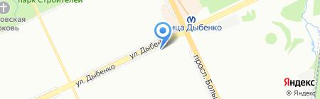 Могуша на карте Санкт-Петербурга