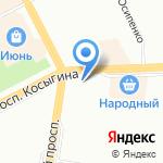 Умная одежда на карте Санкт-Петербурга