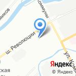 МедКом на карте Санкт-Петербурга