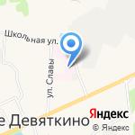 Рондо на карте Санкт-Петербурга
