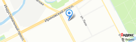 БестТур на карте Санкт-Петербурга