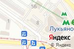 Схема проезда до компании Мастерская в