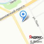 Бирдекель на карте Санкт-Петербурга
