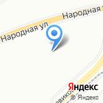 Средняя общеобразовательная школа №516 на карте Санкт-Петербурга