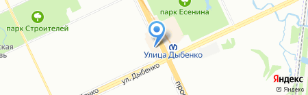 Гелиос на карте Санкт-Петербурга
