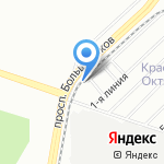 Елена на карте Санкт-Петербурга