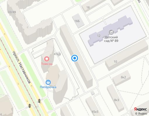 Жилищно-строительный кооператив «ЖСК 1131» на карте Санкт-Петербурга