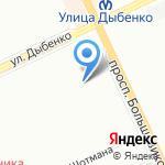 Средняя общеобразовательная школа №20 на карте Санкт-Петербурга