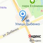 Билайн на карте Санкт-Петербурга
