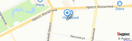 Детский сад №65 на карте Санкт-Петербурга