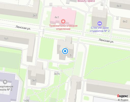 Жилищно-строительный кооператив «ЖСК-1155» на карте Санкт-Петербурга