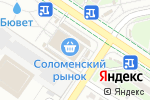 Схема проезда до компании Киоск фастфудной продукции в