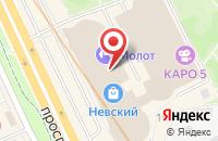 Схема проезда до компании Эр-Медиасервис в Санкт-Петербурге