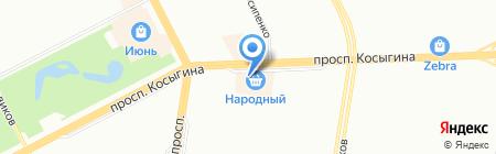 Aurum Dance на карте Санкт-Петербурга