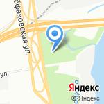 Обуховский на карте Санкт-Петербурга