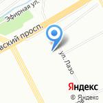 Центр развития ребенка-детский сад №89 на карте Санкт-Петербурга
