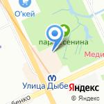 Эсмеральда на карте Санкт-Петербурга