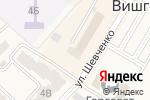 Схема проезда до компании Юта в Вишгороде