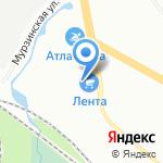 А-Тюнинг на карте Санкт-Петербурга