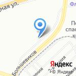 Водитель на карте Санкт-Петербурга