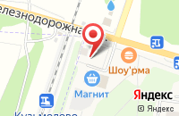 Схема проезда до компании Движок в Кузьмолово