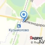 Движок на карте Санкт-Петербурга