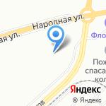 Массажный кабинет на карте Санкт-Петербурга