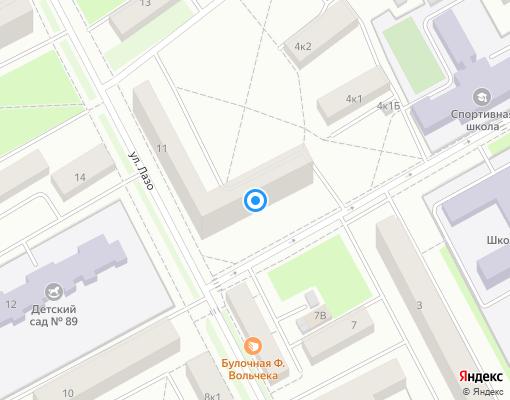Жилищно-строительный кооператив «ЖСК №1151» на карте Санкт-Петербурга