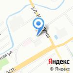 ApexSTO на карте Санкт-Петербурга